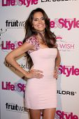 LOS ANGELES - OCT 9:  Joyce Giraud at the Hollywood In Bright Pink at Bagatelle LA on October 9, 201