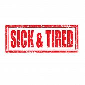 Sick & Tired-stamp