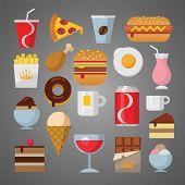 flat food