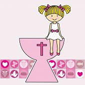 pic of chalice  - First Communion Invitation Card - JPG