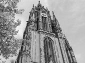foto of frankfurt am main  - Frankfurter Dom Cathedral in Roemerberg Frankfurt am Main Germany - JPG