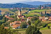 Village Of Miholec In Croatia