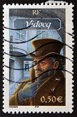France - Circa 2003: A Stamp Printed In France Shows Vidocq, Circa 2003