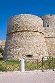 Angevine Swabian Castle. Manfredonia. Puglia. Southern Italy.