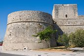 Angevine Swabian Castle. Manfredonia. Puglia. Southern Italy.