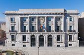 Episcopal Palace At Avila, Spain