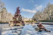 Fame Fountain At La Granja Palace, Spain