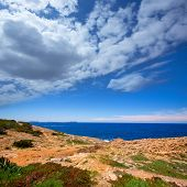 Ibiza Satorre in San Antonio Abad mediterranean view at Balearic islands