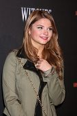 LOS ANGELES - OCT 10:  Stefanie Scott at the 8th Annual LA Haunted Hayride Premiere Night at Griffith Park on October 10, 2013 in Los Angeles, CA