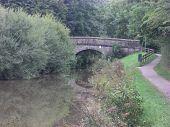 Rural canal bridge