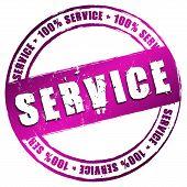 New Stamp - Service