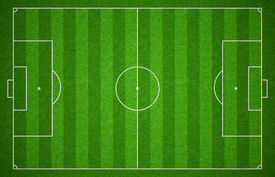 picture of football pitch  - Soccer sport grass playground - JPG
