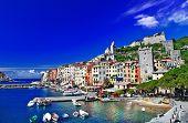 Portovenere, scenic Ligurian coast of Italy