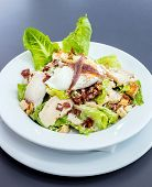 picture of romaine lettuce  - Ceasar Salad with grilled Chicken - JPG