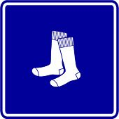 pic of knee-high socks  - socks sign - JPG