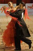 Bailarines de salón de baile: Calin Rusnac / Andreea Maria Hogea