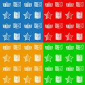 Flat icons for online store