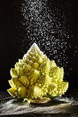 image of romanesco  - Christmas tree from romanesco broccoli - JPG