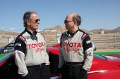 LOS ANGELES - MAR 15:  Eric Braeden, Doug Fregin at the Toyota Grand Prix of LB Pro-Celebrity Race T