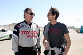 LOS ANGELES - MAR 15:  Eric Braeden, Adrien Brody at the Toyota Grand Prix of Long Beach Pro-Celebri