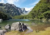 image of tramp  - Routeburn track - JPG