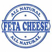 Natural feta cheese