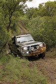 Green Toyota Land Cruiser 4 Door