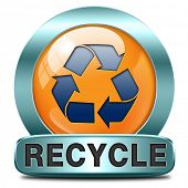Recycle and reuse paper glass clothes plastics and other garbage safe the planet and buy ecological