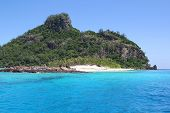 Beautiful Rugged Modriki Island, Fiji