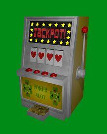 pic of poker machine  - Jackpot - JPG