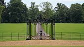 Country home gate