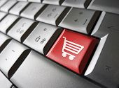 Online Shopping Icon Concept