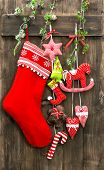 Christmas Decoration Stocking And Handmade Toys