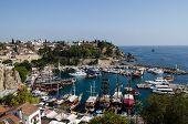 Aerial view, Antalya Harbour