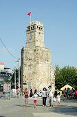 Clock Tower, Old Antalya, Turkey