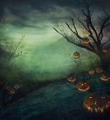 picture of spooky  - Halloween design  - JPG