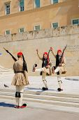 Changing Of The Guard Ceremony, Athens