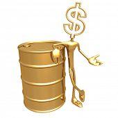 Oil Presenter Dollar