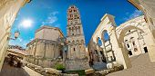 Ancien Old Roman Square In Split