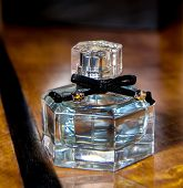 Perfume Bottle In The Bedroom