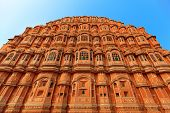 Hawa Mahal Palace (palace Of The Winds) In India