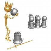 Pawn Bowling