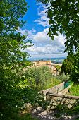 Tuscany hills, landscape near San Gimignano