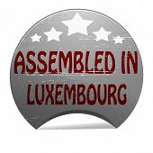 Assembled In Luxembourg