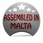 Assembled In Malta