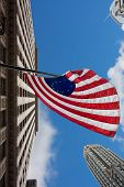 Us Variant Betsy Ross Flag In Chicago