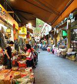 Shopping At The Zhongjie Dry Goods Market