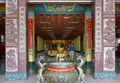 The Entrance Hall Of The Wumiao Temple