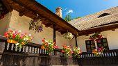 Village House. Rustic House From Transylvania, Sibiu, Romania