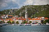 Skradin Is A Small Historic Town In Croatia